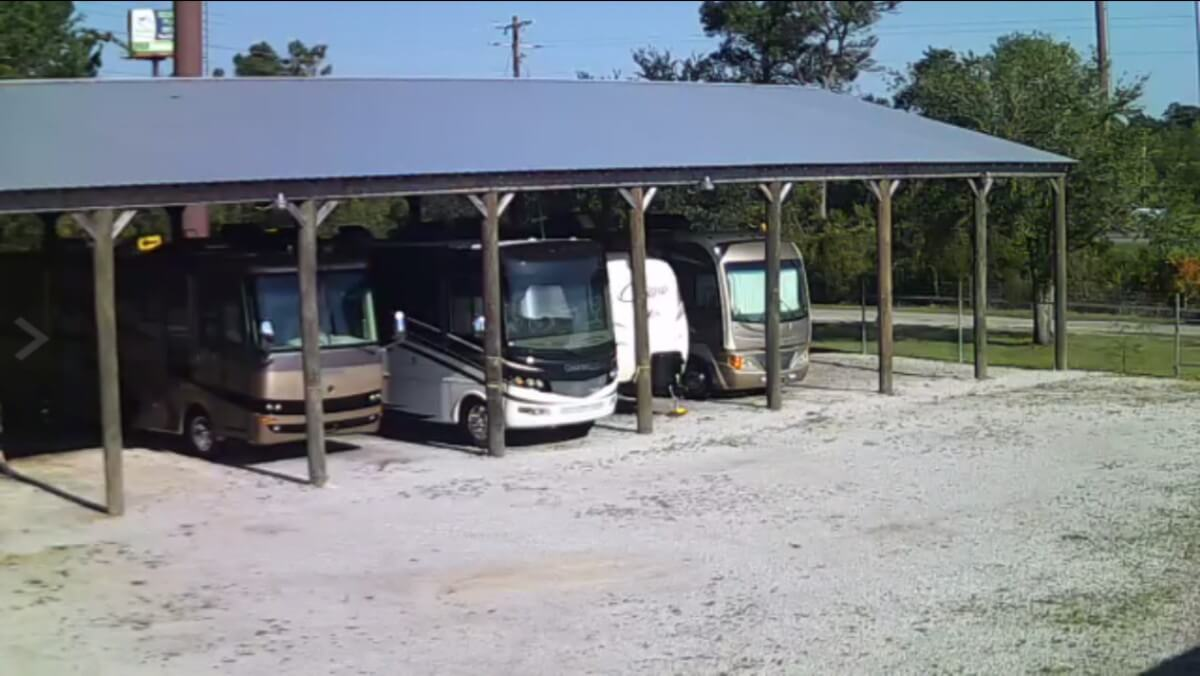 Image 3 of our storage park in Biloxi | Allure RV Park